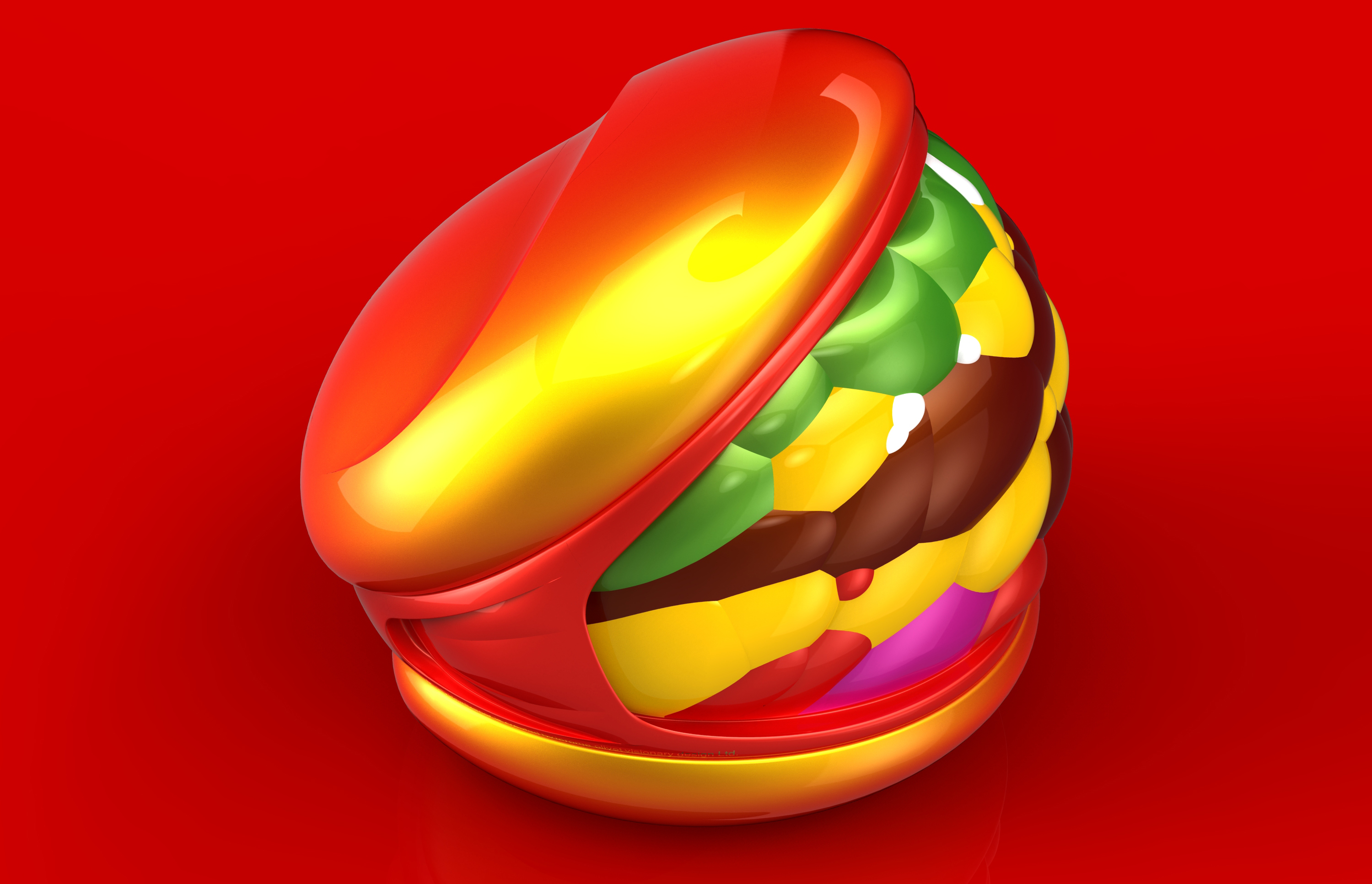 Hamburger 3D (2)