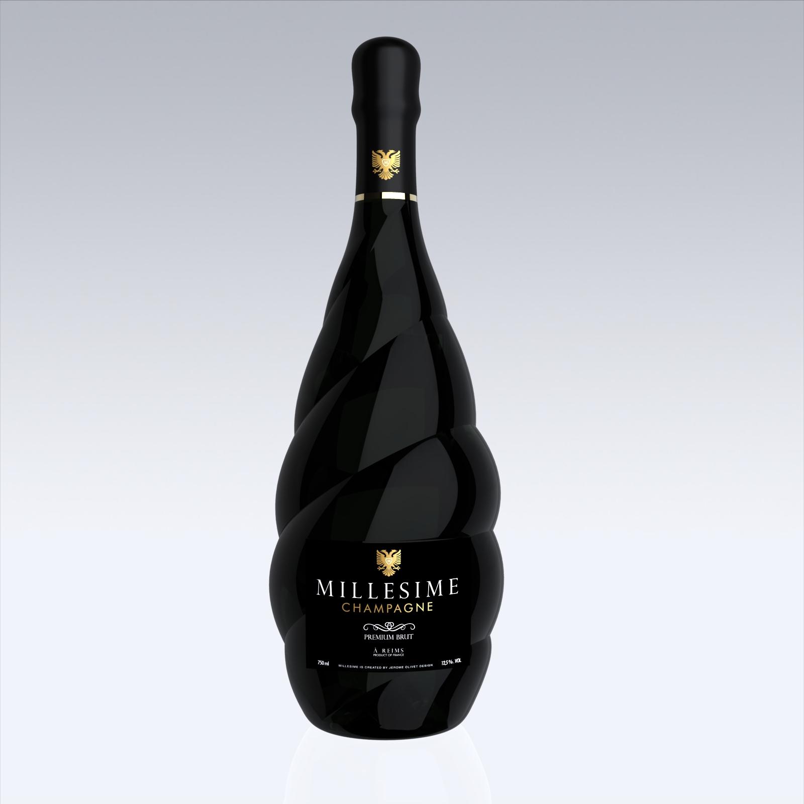 Millesime champagne jerome olivet